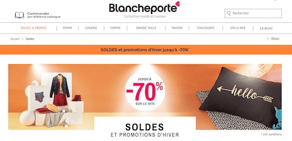 grandes marques prix le moins cher revendeur en gros Les soldes Blancheporte commencent maintenant profitez-en en ...