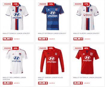 Boutique-OL-maillots