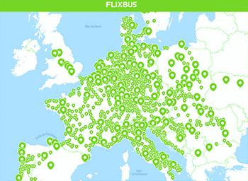 Flixbus-destinations