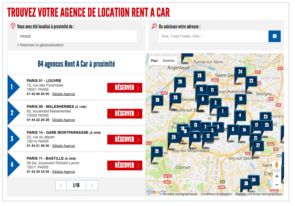 Rent-A-Car-points-de-vente