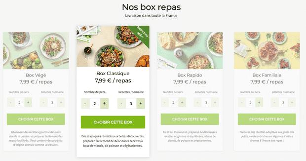 box-repas